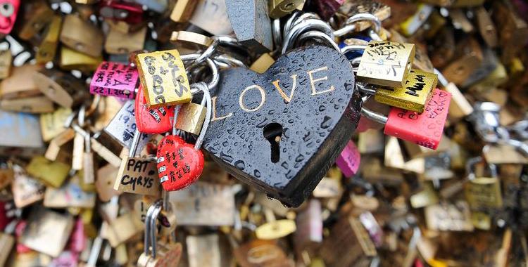 Os cadeados do amor